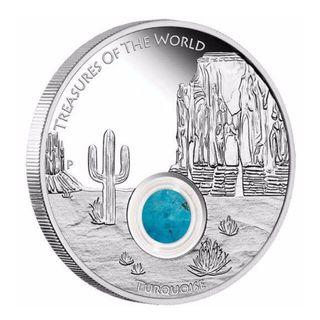 Treasure of the World - 1oz North America Turquoise