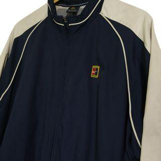 Vintage Nike Tennis Tracktop Vtg Jacket