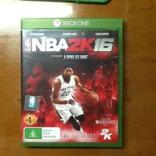 NBA2K16 (Xbox One)