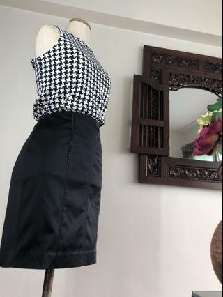 Skirt (SALE) - Black Pencil Skirt