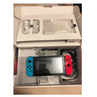 Nintendo Switch full set with box