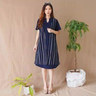 New Irene striped dress