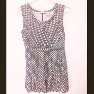 降價出清👏 無袖點點洋裝  #半價衣服拍賣會