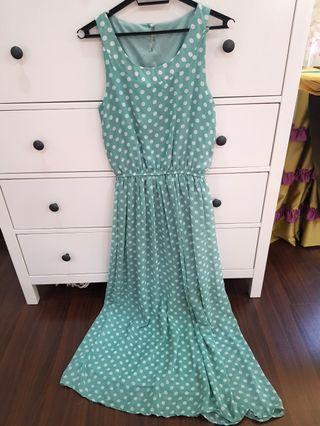 Poplook Polkadot dress #GayaRaya