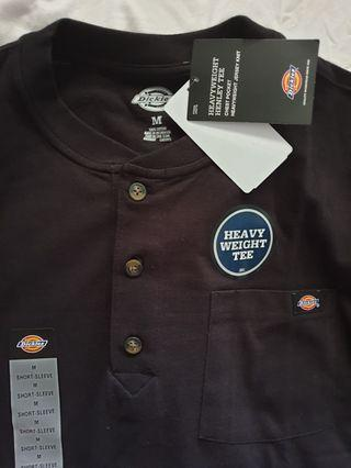 New Authentic Dickies button t-shirt