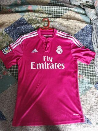Real Madrid pink jersey 14/15 away kit M size