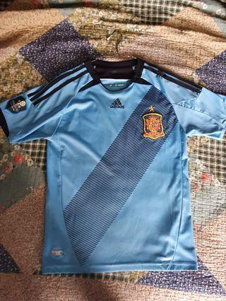 Spain 2012 euro away kit jersey s size