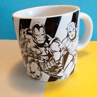 純收藏 Marvel Avengers 復仇者聯盟 瓷杯連瓷杯墊 彩盒裝