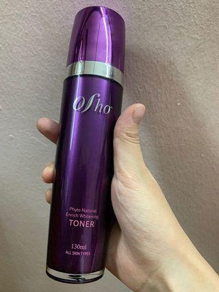 Osho phyto natural enrich whitening toner
