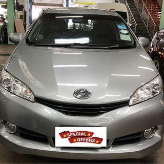 Toyota Wish for rent @$420