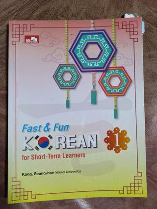 (Buku Belajar Bahasa Korea) Fast & Fun Korean 1
