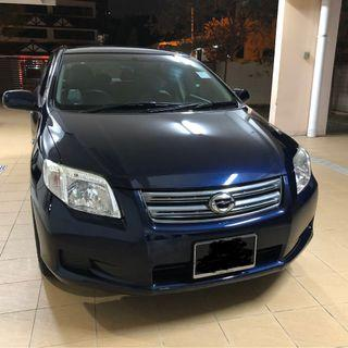 Toyota Axio for rent @$350 per week