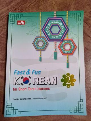 (Buku Belajar Bahasa Korea) Fast & Fun Korean 2