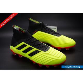 the latest f74d9 9cf9c Adidas Predator 18.1 hg ag Solar Yellow soccer football boots