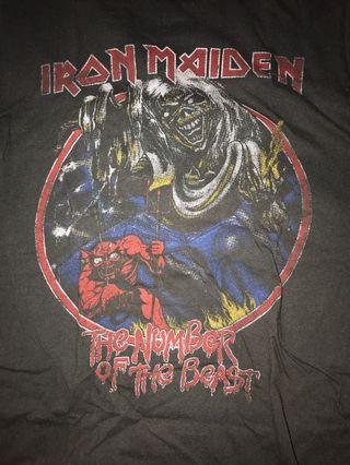 Iron Maiden band shirt unisex