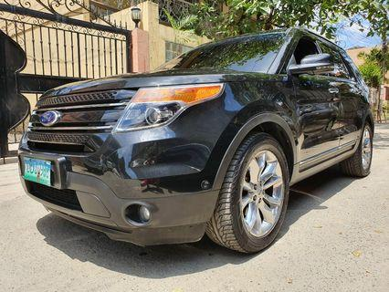 2013 Ford Explorer Limited 3.5 V6 Fuel Flex 4x4 Gasoline Casa Maintained AT