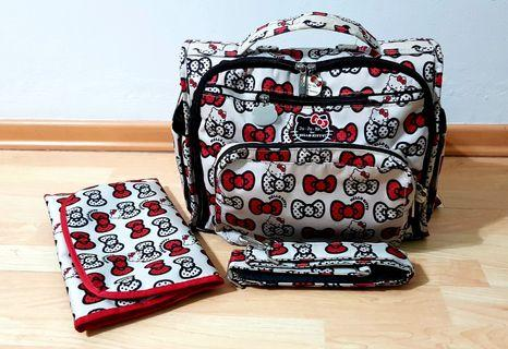 Ju-Ju-Be Hello Kitty Collection B. F. F. Diaper Bag Peek a Bow