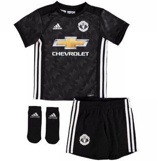 Brand New Authentic Adidas Manchester United Jersey 17 / 18 Away Baby Kit