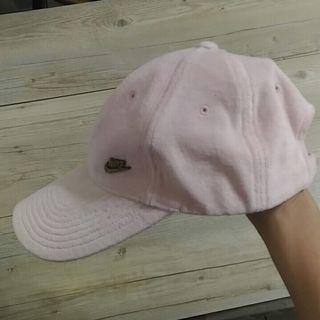 NIKE 粉色鴨舌帽遮陽帽