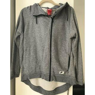 NIKE Hoodie Sweater Grey size S