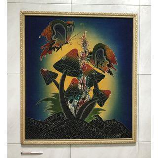 Batik painting —Celebration