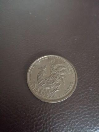 2005 Rooster Coin