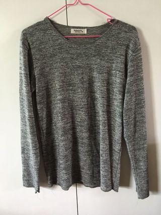 Korean grey Pullover