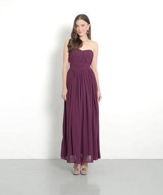 HVV perla classic maxi dress