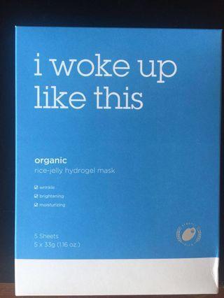 IWLT Organic Rice Jelly Hydrogel Mask