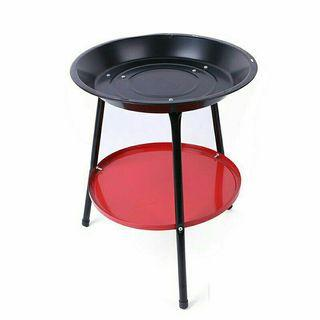easy carry portable outdoor round charcoal BBQ grill