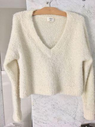 Aritzia Wilfred Free V neck sweater