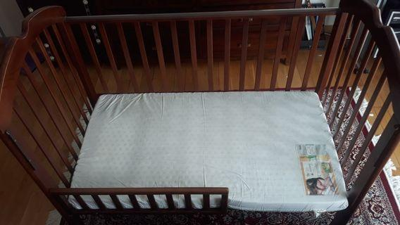 4 in 1 Convertible Baby Cot
