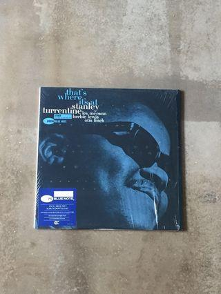 Stanley Turrentine / That's Where It's At 180gm vinyl LP (Blue Note)