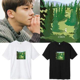 "[EXO007] EXO Chen ""April and a Flower"" Inspired Tee"