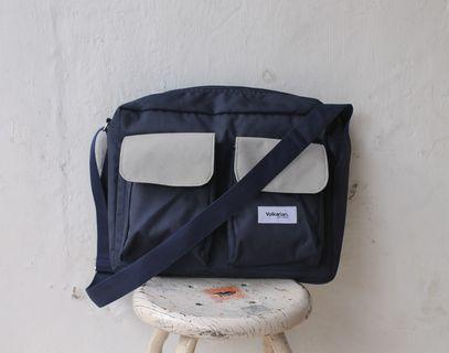 Messenger bag slingbag by volkarian.co