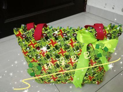 环保包包。🛍️♻️。recycle bag♻️