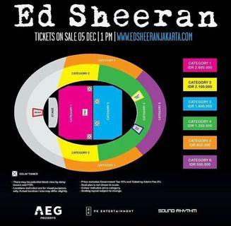 Es Sheeran Live Jakarta