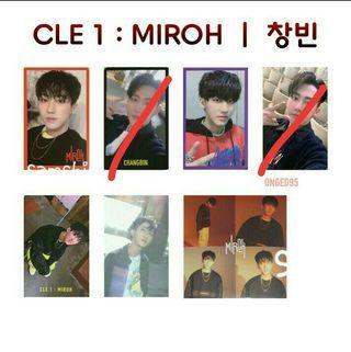 [WTB] Stray Kids Changbin MIROH photocards