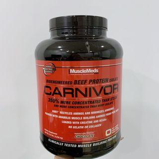 Musclemeds Carnivor Beef Protein Isolate - Chocolate Whey Protein