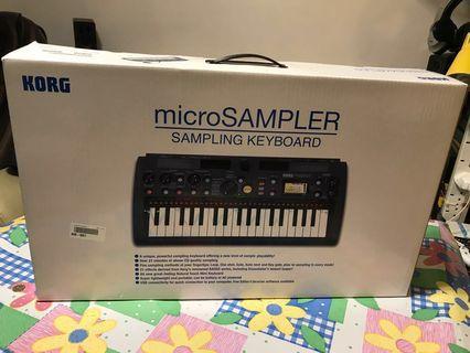 KORG microSAMPLER keyboard