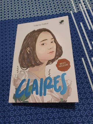 Novel Best Seller Claires (Top 10 gramedia)
