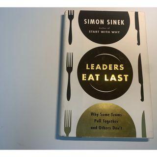 Leaders Eat Last: Why Some Teams Pull ... Book by Simon Sinek