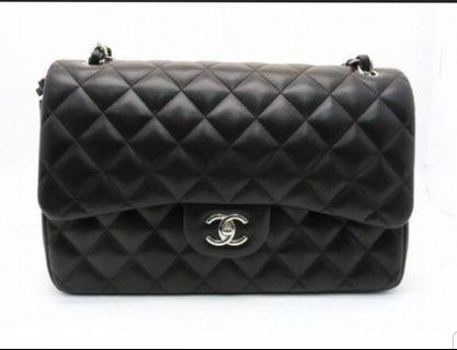 CHANEL Matelasse Classic Flap Jumbo Shoulder Bag