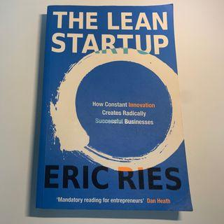 The Lean Startup Book by Eric Ries