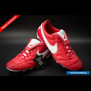 Nike Premier 2.0 Red k leather soccer football boots