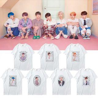 [BTS018] BTS Members' Picture Inspired Tee