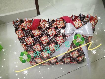 Handmade recycle bag ,wraper bag