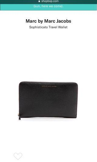 Marc by Marc Jacobs Travel Wallet