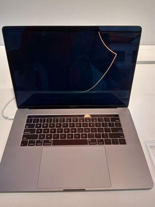 MacBook Pro  15 inch with touch bar