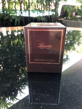 Lauren Perfume in Crystal 1/4 fl oz